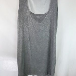 Boohoo | Silver Sparkle Dress NWOT Size 18